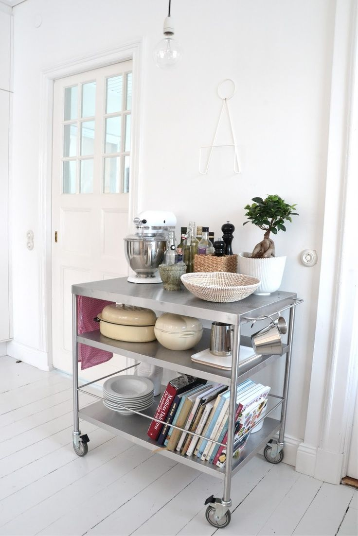 Splendid Kitchen Carts Ikea For Small Storage Solution Rolling Cart Raskog