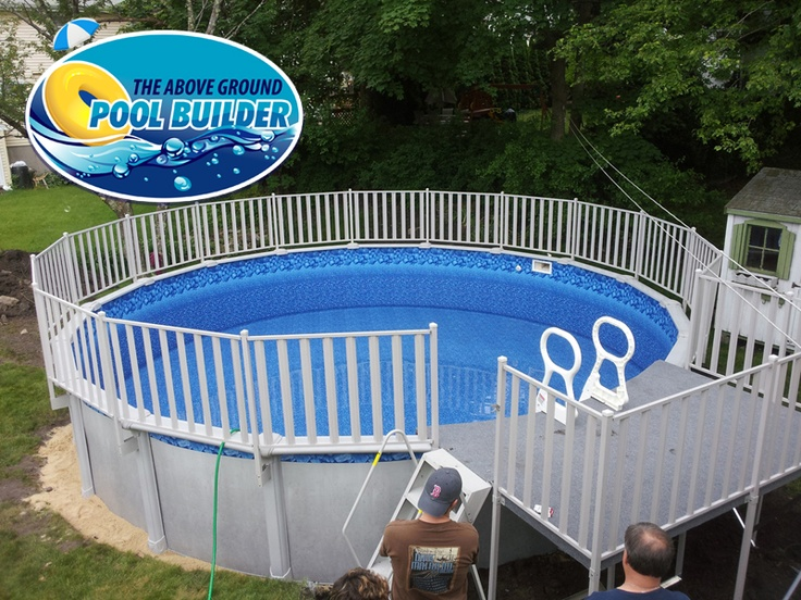 Aluminum decking for Above ground pool metal decks