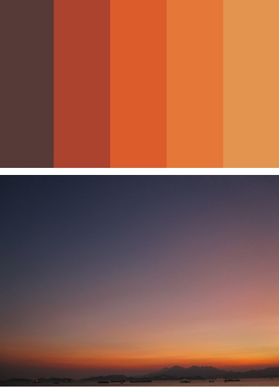 95 best popular paint colors 2014 images on pinterest Orange paint samples