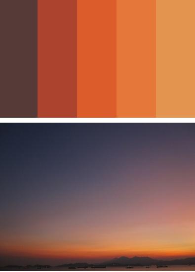 95 best popular paint colors 2014 images on pinterest for Orange paint samples
