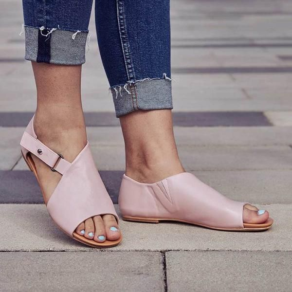 Details about  / Ladies Solid Peep Toe Block Mid Heel Slippers Slip On Sandals Date Shoes Comfy