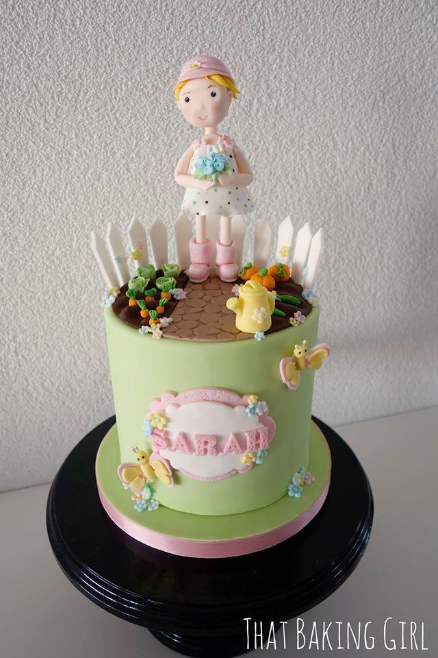 secret garden cake thatbakinggirl