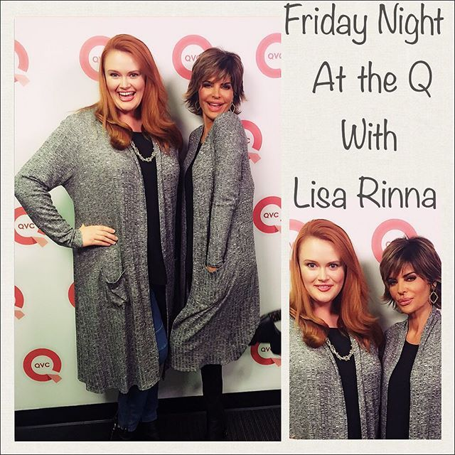 Top 100 lisa rinna hairstyle photos No matter if it's on #RHWBH or on #QVC, @lisarinna makes for good tv! I was honored to #model some fab #fallfashions by #LisaRinna tonight on @QVC. #plusmodel #qvcmodel #Twinning in this #DusterCardigan #LoveHer #BestHousewifeever #beverlyhillshousewives #BravoTV #hardestworkingwomen #inshowbiz @realhousewivesofbeverlyhills