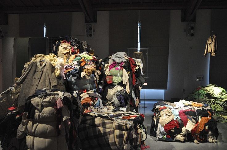 Wool garments ready to be recycled and turned into Cardato wool. Photo @Marco van Bemmel van Bemmel Badiani