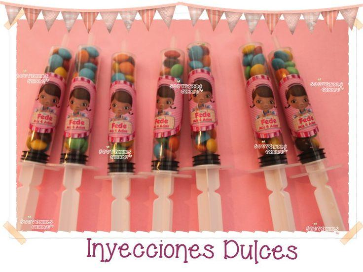 www.facebook.com/souvenirs.chiru Inyecciones dulces, souvenirs doctora juguetes.
