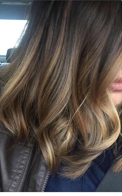 Really pretty blended highlights