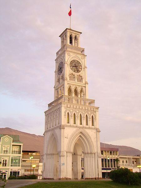 Torre del Reloj, Iquique, Norte de Chile