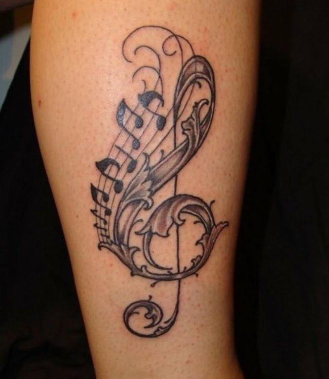 Afbeeldingsresultaat voor tattoos inspiration music