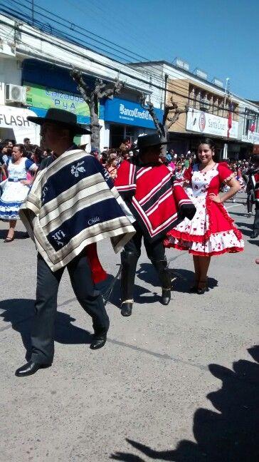 18 Septiembre 2015.Desfile en Santa Cruz