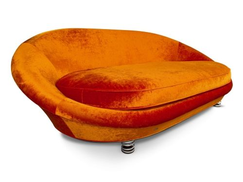 plüsch orange sofa designs bretz brothers