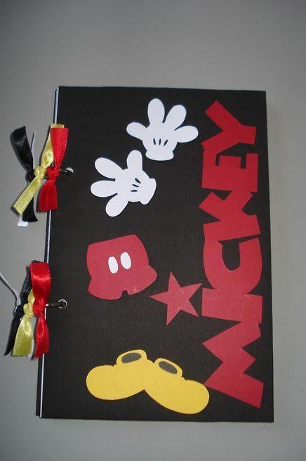 Caderno Personalizado Mickey - Produto 239322   AIRU