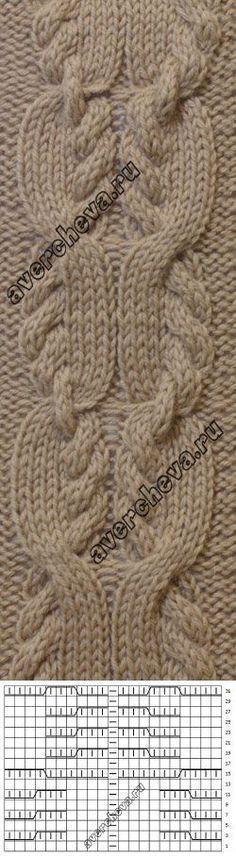 Pattern 699 braids   catalog knitting patterns