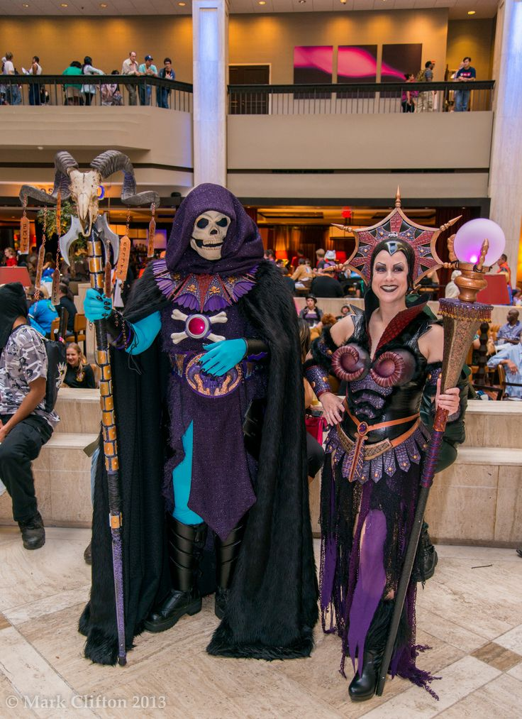 demon geek wicked skeletor and evil lynn costumes - Universe Halloween Costume