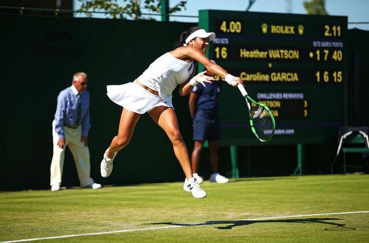 2015 Wimbledon. Heather Watson - Great Britain