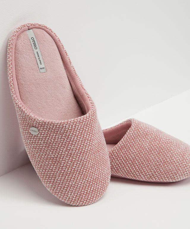 Basic weave slippers - OYSHO