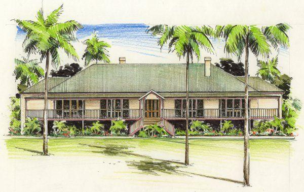 the rawson house plan | ... House Plans » Buy House Plans » Australian Colonial » The Rawson