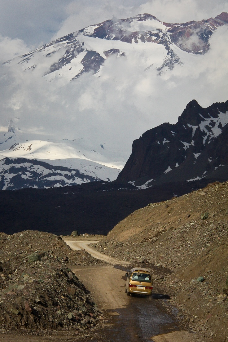 Alto Maipo River Valley, Andes Mountains, Chile
