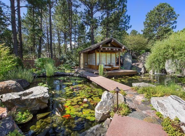 Natural Inspiration Koi Pond Design Ideas For A Rich And Tranquil Home Landscape Home