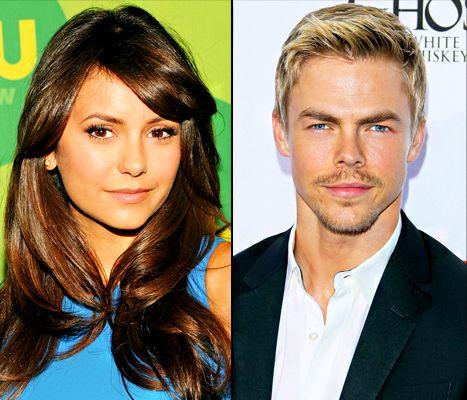 New couple alert! Nina Dobrev and Derek Hough are dating!