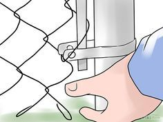 Install Chain Link Fence  A GREAT tutorial from WikiHow.com