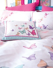 Scatter Butterflies Cushion