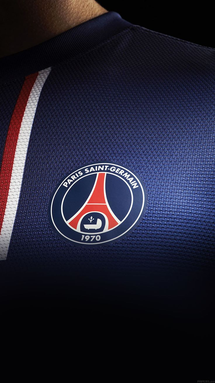 WALLPAPER PSG PARIS SAINT GERMAIN FC JERSEY LOGO SOCCER WALLPAPER HD IPHONE