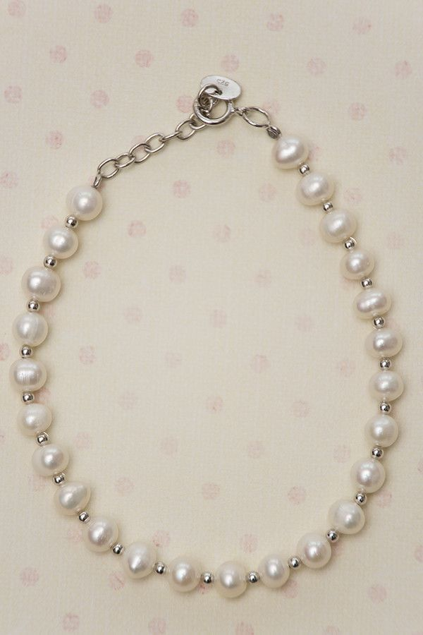 Fresh Water Pearl 925 Sterling Silver Bracelet