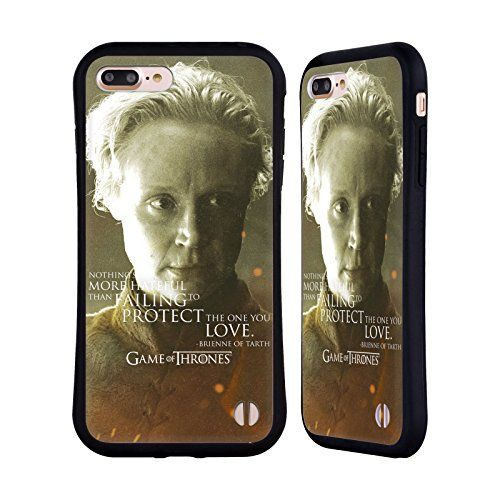 Official HBO Game Of Thrones Brienne Of Tarth Character Portraits Hybrid Case for Apple iPhone 7 Plus