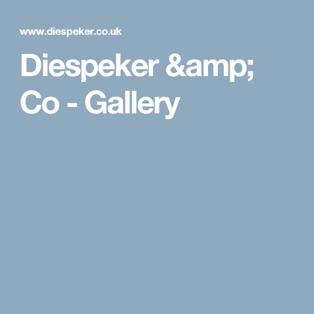 Diespeker & Co - Gallery