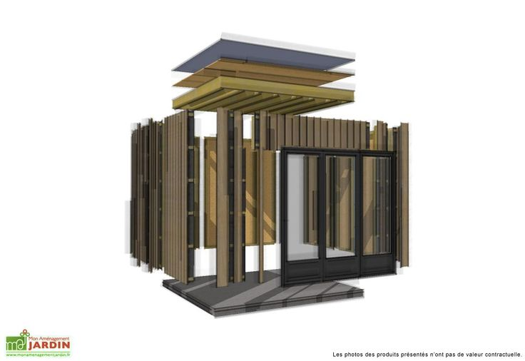 ... Design Studio (515x375) - M² Espace Jardin  cabanes  Pinterest