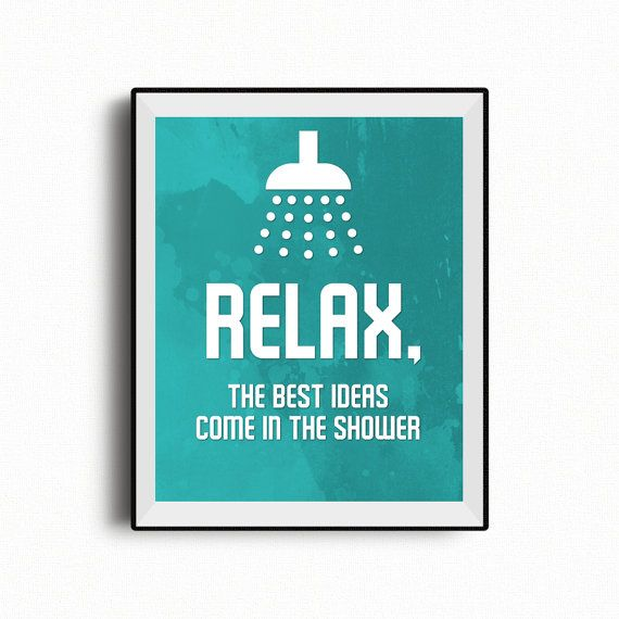 Bathroom Wall Art Relax Shower Bathroom Decor best ideas