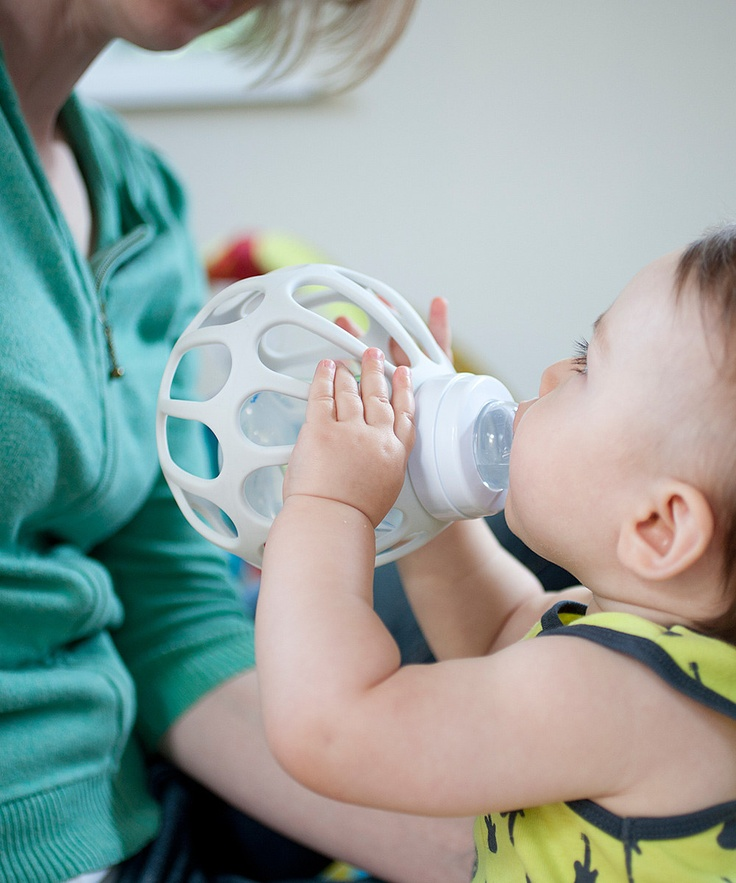 Baby bottle holder- wonderful