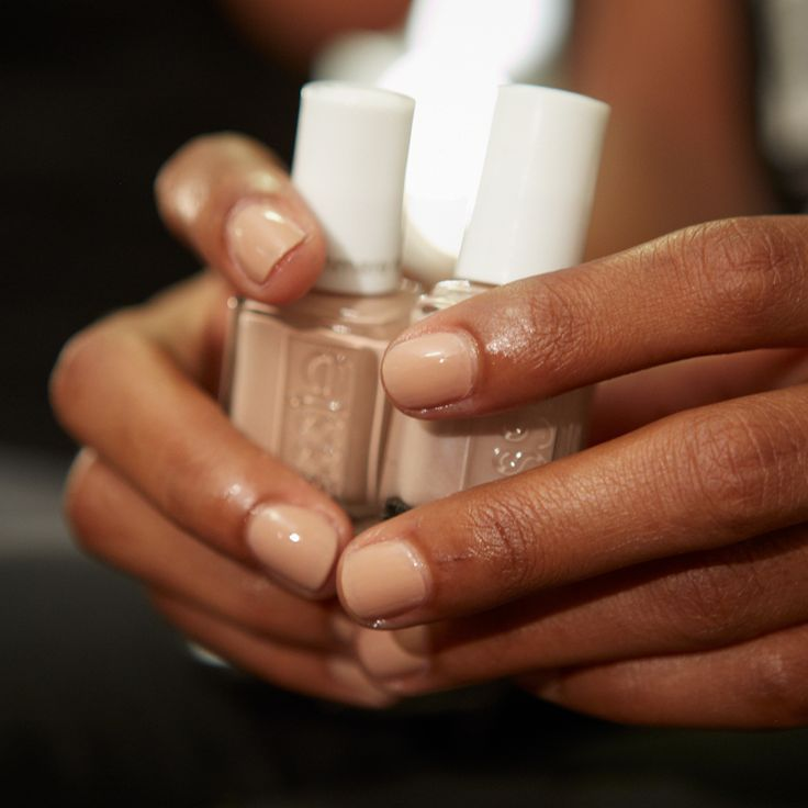 We never met a nude we didn't like - especially not at Fashion Week with DKNY|| DBP, Toluene and Formaldehyde free. || For the full essie range, head to: www.essie.com.au