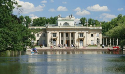 Visit Poland's 'Palace on the Water' while in Warsaw, as part of your APT tour.