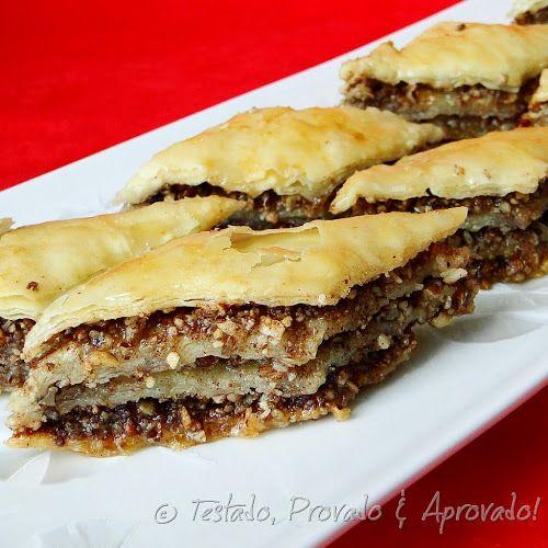 Testado, Provado e Aprovado!: MASSA FILO CASEIRA & BAKLAVA - Desafio Daring Bakers - Junho/2011