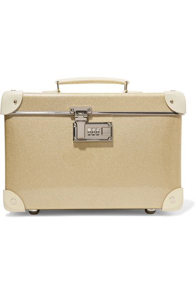 Globe-Trotter - Champagne 13'' Leather-trimmed Fiberboard Vanity Case - Gold - one size