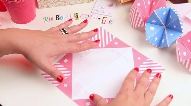 Tuto origami : Cocotte en papier by UnBeauJour. Cocotte en papier à télécharger et à imprimer gratuitement sur unbeaujour.fr