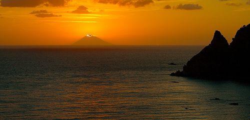 Stromboli - volcano - Sicilia - Sicily- Italia - Italy
