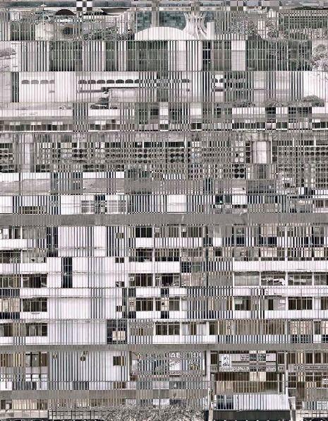 STÉPHANE COUTURIER Brasilia Axe Monumental n°1, 2007/2010  C-print 51 1/5 × 40 1/5 in 130 × 102 cm Edition of 5