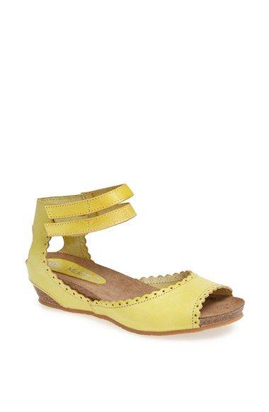 Miz Mooz 'Bridget' Leather Wedge Sandal   Nordstrom