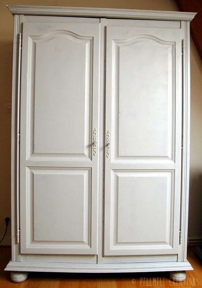 Avant apres nos vieux meubles repeints meubles peints home decor paint furniture et armoire - Relooker un vieux meuble ...