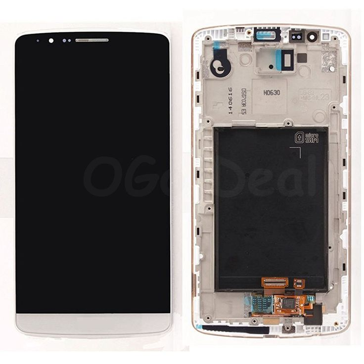 Wholesale LG G3 LCD Screen and Digitizer Assembly With Frame Replacement  D855 D851 D850 LS990 - White - Ogo Deal @ http://www.ogodeal.com/for-lg-g3-lcd-screen-and-digitizer-assembly-with-frame-replacement-d855-d851-d850-ls990-white.html