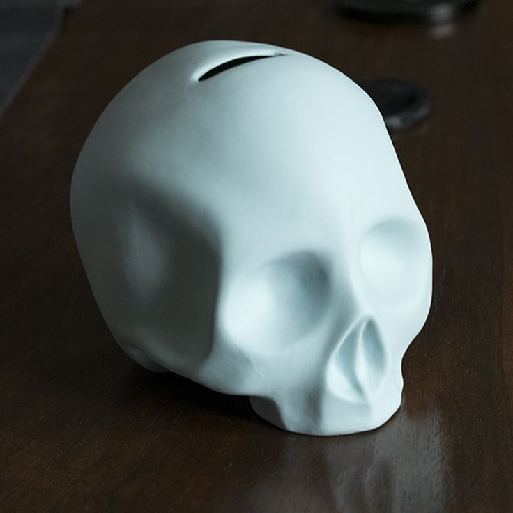 Skull - money box