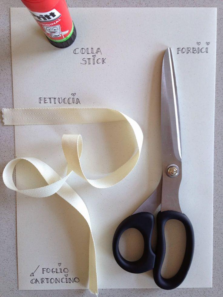 DIY: Etichette in tessuto