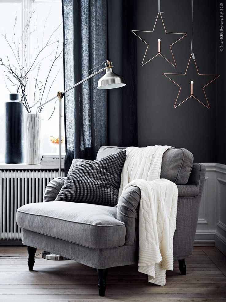 Grey winter living room Daily Dream Decor