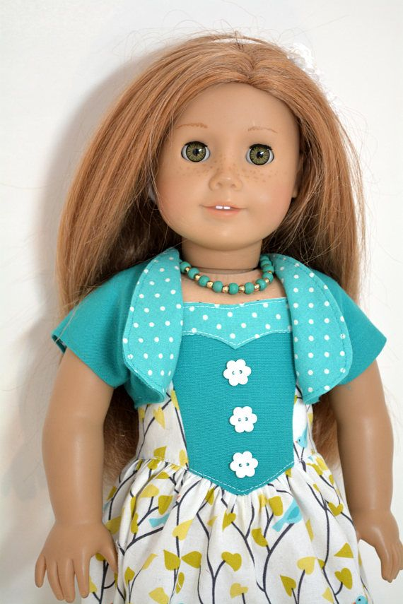 3c5eac3c9 18 inch Doll Clothing fits American Girl Doll 5 piece outfit
