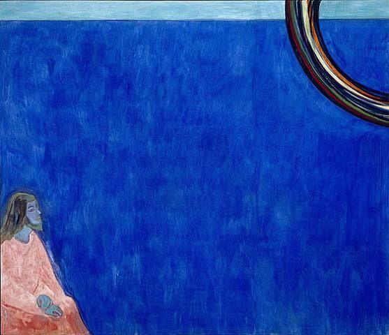 Peter Doig, Purple Jesus, Black Rainbow, 2006
