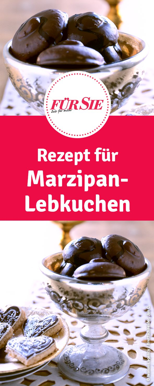 Rezept für Marzipan-Lebkuchen zu Weihnachten