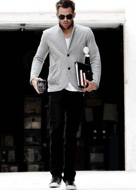私服がおしゃれなクリス・パイン!