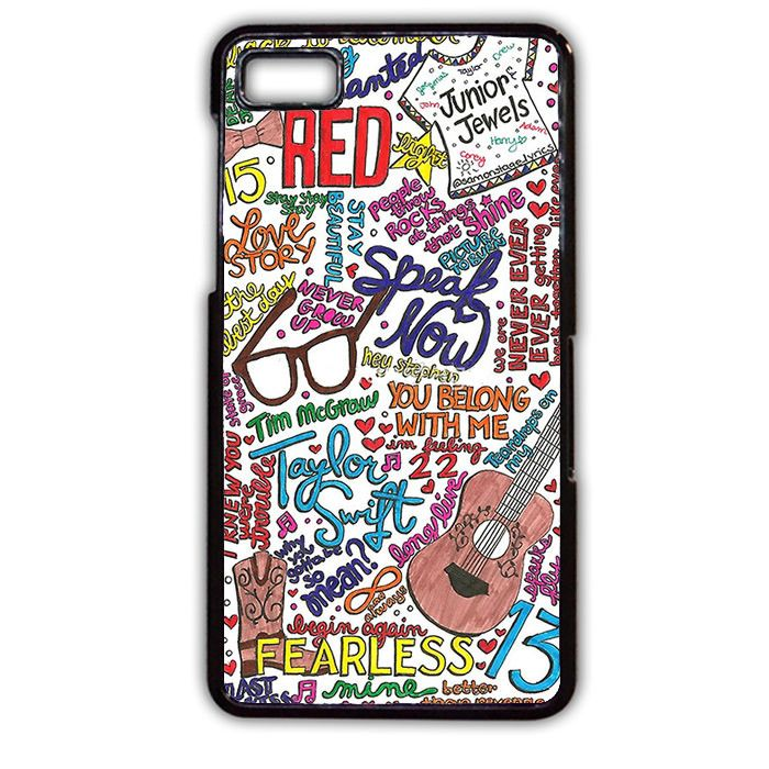 Taylor Swift Collage Art Love Phonecase Cover Case For Blackberry Q10 Blackberry Z10